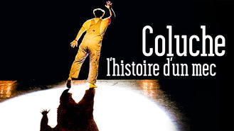 Netflix box art for Coluche
