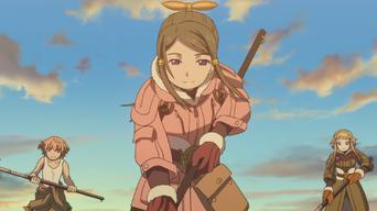 Last Exile: Fam, the Silver Wing: Season 1: Connected passed pawn