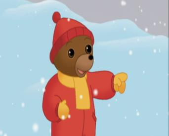 The Adventures of Little Brown Bear: The Adventures of Little Brown Bear: Little brown bear makes a snowman